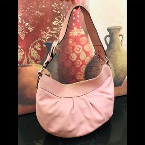 Coach Pink Large Hobo